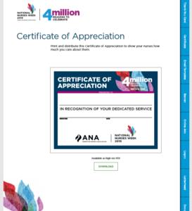 4 million certificate